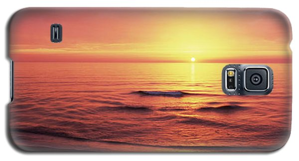 Sunset Over The Sea, Venice Beach Galaxy S5 Case by Panoramic Images