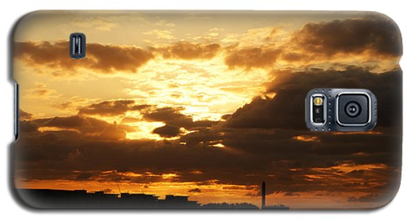 Sunset Over The Thames From Greenwich Galaxy S5 Case