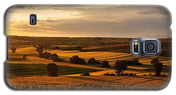 Sunset Over The Umbrian Countryside At Paciano Galaxy S5 Case