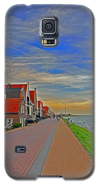 Sunset Over Volendam Galaxy S5 Case