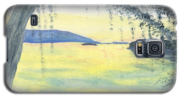 Sunset Over Water Galaxy S5 Case