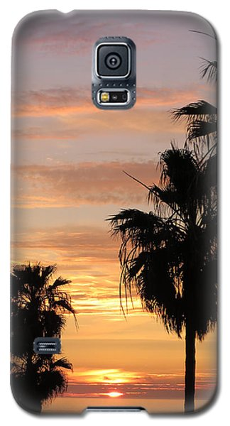 Sunset Palms Galaxy S5 Case by Charles Ables