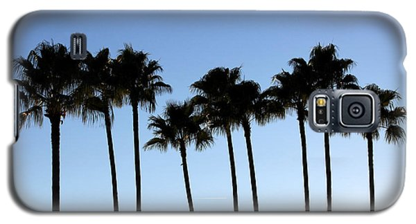 Sunset Palms Galaxy S5 Case