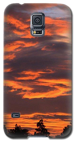 Sunset Galaxy S5 Case by Pamela Walton