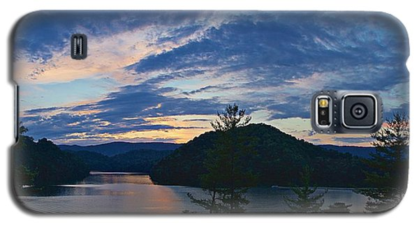 Sunset Pano - Watauga Lake Galaxy S5 Case by Tom Culver