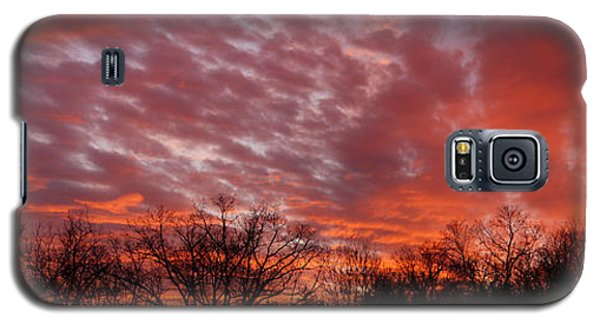 Sunset Panorama Galaxy S5 Case