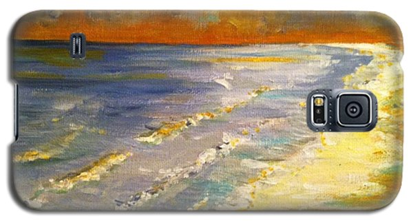Sunset Passion At Cranes Beach Galaxy S5 Case