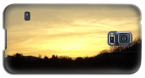 Galaxy S5 Case featuring the photograph Sunset by Paula Tohline Calhoun