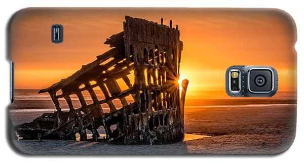 Sunset Peter Iredale Galaxy S5 Case by James Hammond