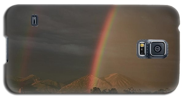 Sunset Rainbow Left Galaxy S5 Case