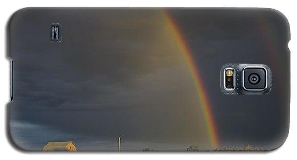 Sunset Rainbow Right Galaxy S5 Case