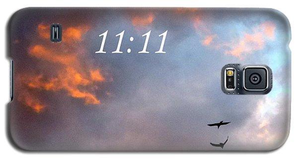 Sunset Raven 11 11 Galaxy S5 Case by Marlene Rose Besso