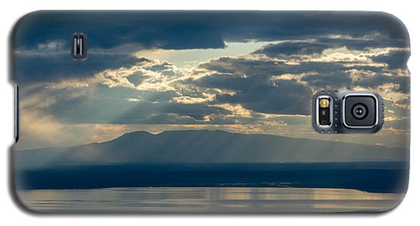 Sunset Rays Over Mount Susitna Galaxy S5 Case