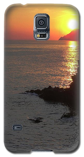 Galaxy S5 Case featuring the photograph Sunset Reflection by Natalie Ortiz