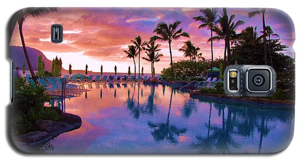 Sunset Reflection St Regis Pool Galaxy S5 Case