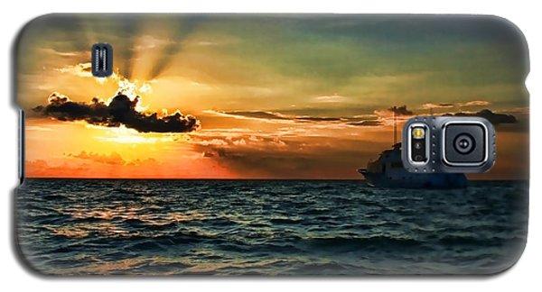 Sunset Regatta  Galaxy S5 Case