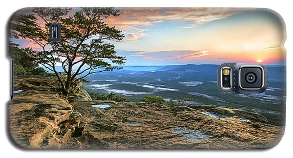 Sunset Rock Lookout Mountain  Galaxy S5 Case by Steven Llorca