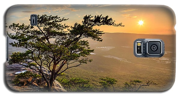 Sunset Rock On Lookout Mountain Galaxy S5 Case by Steven Llorca