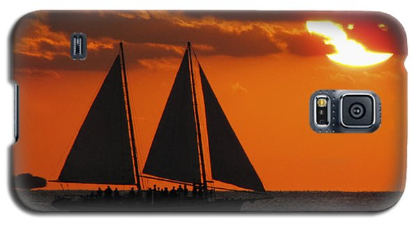 Key West Sunset Sail 3 Galaxy S5 Case