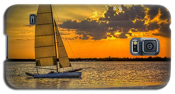 Sunset Sail Galaxy S5 Case by Marvin Spates