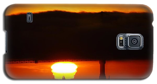 Sunset Sailboat Galaxy S5 Case