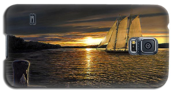 Sunset Sails Galaxy S5 Case