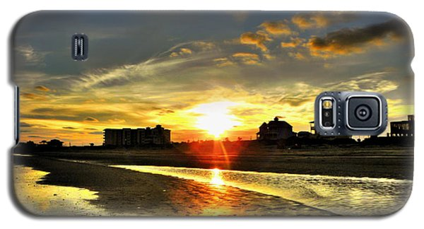 Galaxy S5 Case featuring the photograph Sunset by Savannah Gibbs