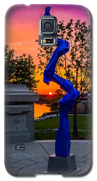 Sunset Sculpture Galaxy S5 Case