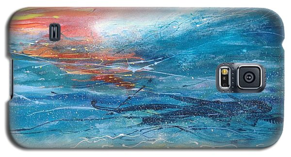 Sunset Seascape Galaxy S5 Case