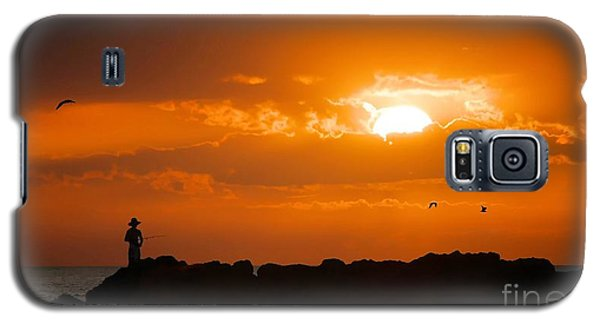 Sunset Serenity Galaxy S5 Case