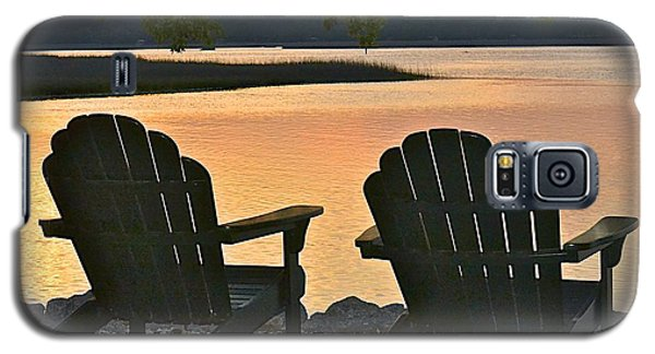 Galaxy S5 Case featuring the photograph Sunset Serenity by Carol  Bradley
