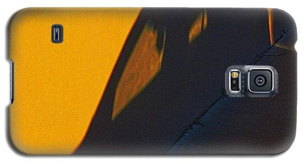 Galaxy S5 Case featuring the photograph Sunset Shadow Car by John Hansen