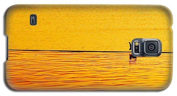 Sunset Silhouette Galaxy S5 Case by Darryl Dalton