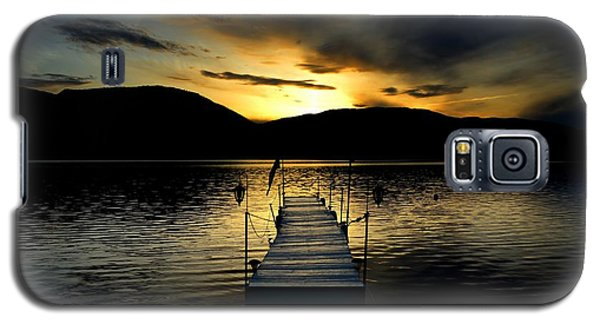 Sunset Skaha Lake Galaxy S5 Case by Guy Hoffman