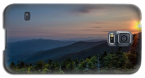 Sunset Smokey Mountains  Galaxy S5 Case by Kelly Marquardt