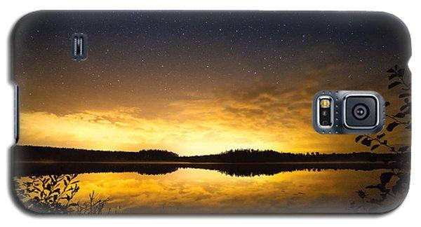 Sunset Star Landscape Galaxy S5 Case