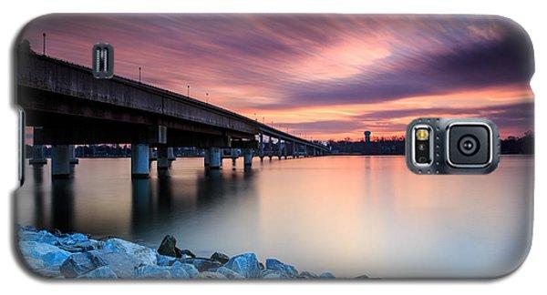 Sunset Streaks Galaxy S5 Case