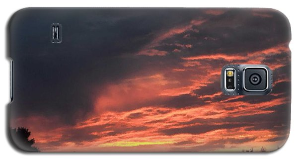 Galaxy S5 Case featuring the photograph Sunset Streaks by Luther Fine Art