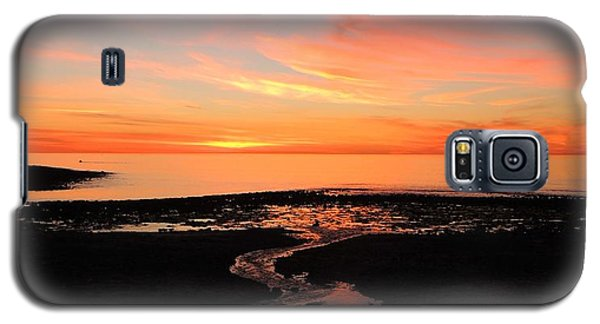 Galaxy S5 Case featuring the photograph Field River, Hallett Cove by Linda Hollis