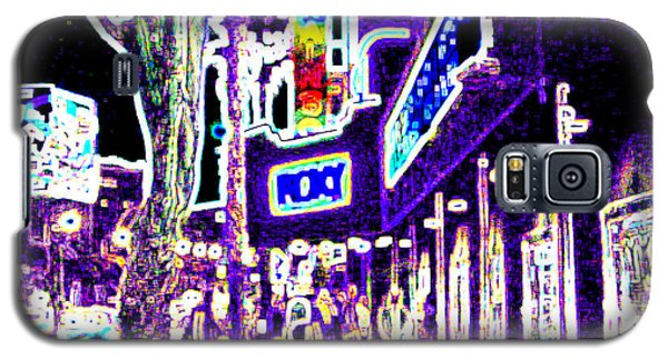 Sunset Strip - Black Light Psychedelic Galaxy S5 Case