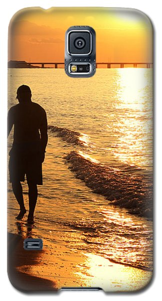 Sunset Stroll Galaxy S5 Case