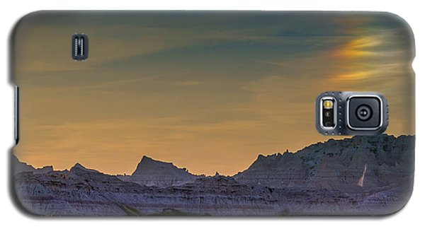 Sunset Sundogs At The Badlands Galaxy S5 Case