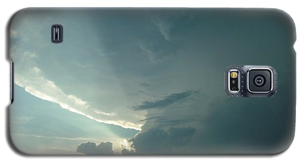 Galaxy S5 Case featuring the photograph Sunset Supercell by Ed Sweeney