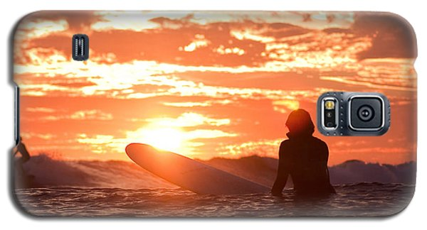 Sunset Surf Session Galaxy S5 Case by Paul Topp