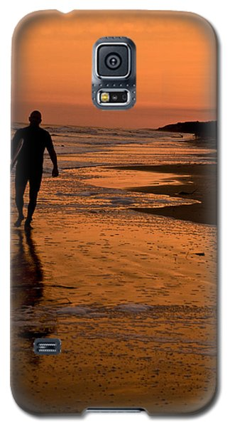 Sunset Surfer Hilton Head Sc Galaxy S5 Case