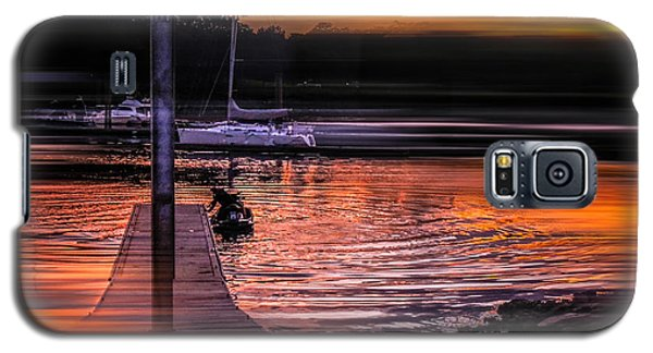 Sunset Swirl Galaxy S5 Case
