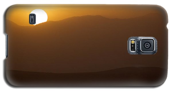 Galaxy S5 Case featuring the photograph Sunset The Ruby Mountains Wells Nevada by Michael Rogers