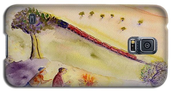Sunset Train Galaxy S5 Case