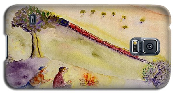 Sunset Train Galaxy S5 Case