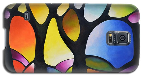 Sunset Trees Galaxy S5 Case